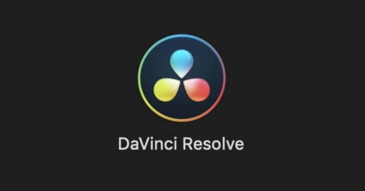 DaVinci Resolve ロゴ
